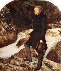 Il ritratto di Ruskin dipinto da Millais in Scozia