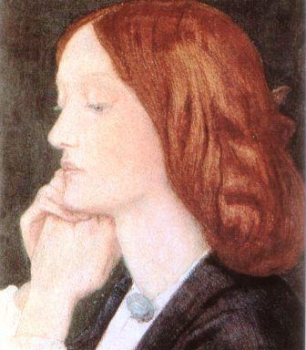 Dante Gabriel Rossetti Portrait of Elizabeth Siddal 1854