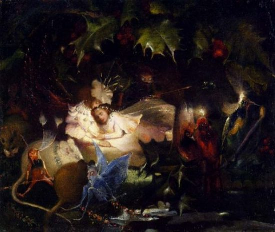 John_Anster_Fitzgerald_-_The_Fairy_Bower (1)
