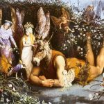 Fairy painting in epoca romantica
