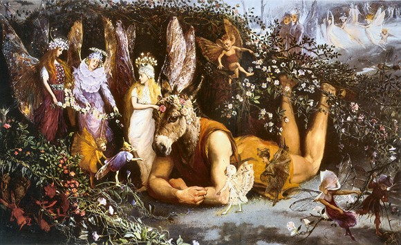Titania and Bottom John Anster Fitzgerald