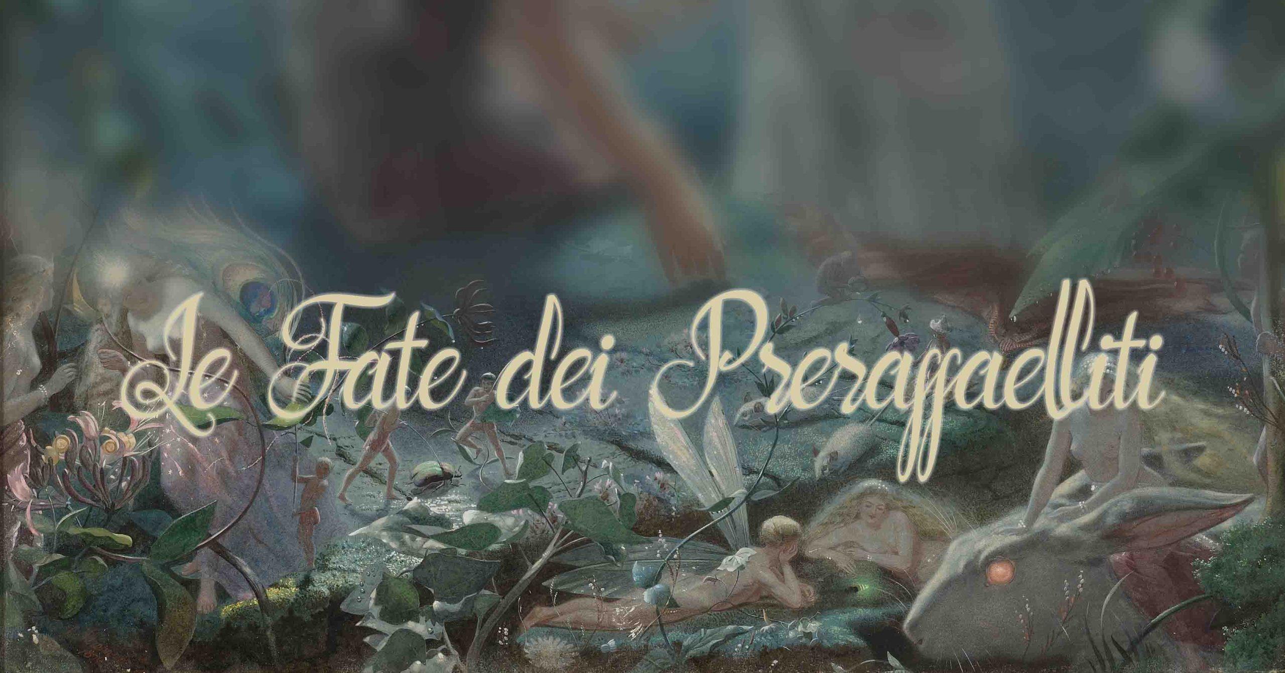 l'arte delle fate preraffaellita - fairy painting