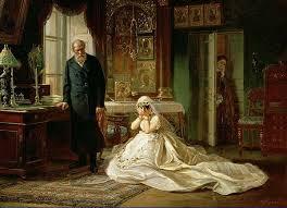 l'abito da sposa nell'ottocento