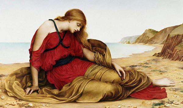 Ariadne in Naxos by Evelyn De Morgan 1877