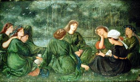 Edward Burne Jones Green Summer 1864