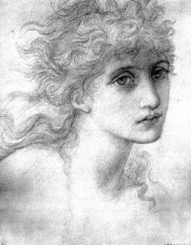 Maria Zambaco dipinta da Edward Burne-Jones