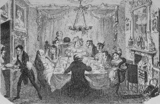 cruikshank christmas pudding served at dinner party life magazine imagejaneausteword