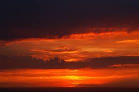 tramonto costa azzurra