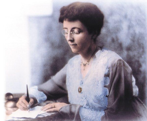 Lucy Maud writing 0