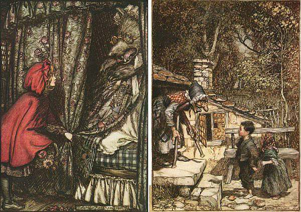 fairy tales of the brothers grimm c2a9 arthur rackham