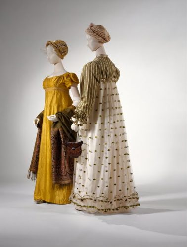 I colori di moda in epoca Regency