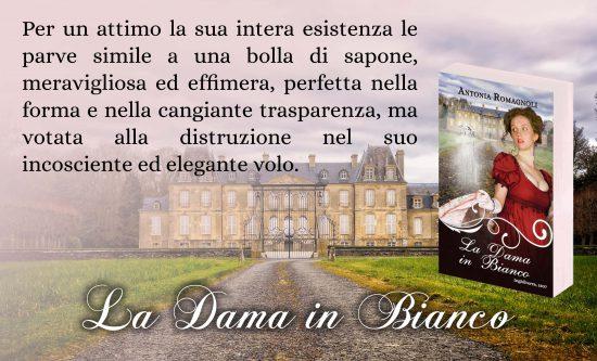 antonia romagnoli - la dama in bianco - le dame fantasma - regency era