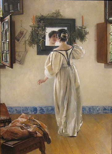 A knock at the door Laura Alma-Tadema