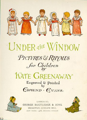 Kate Greenway illustratrice