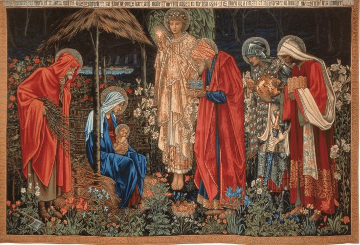 L'adorazione dei magi di Edward Burne-Jones