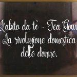 L'abito da tè vittoriano – tea gown