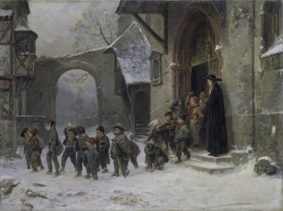 la scuola in epoca regency